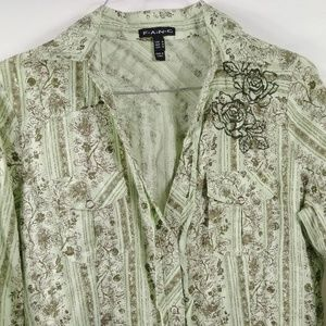 F.A.N.G Womens Shirt Size M